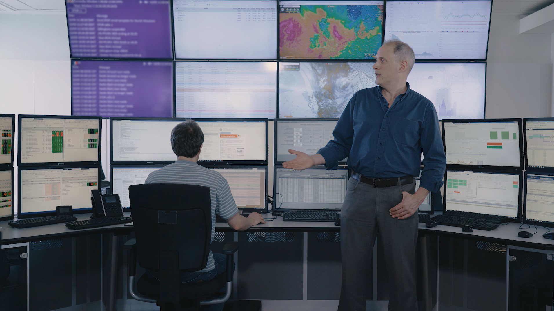 Take a peek into Flexitricity's 24/7 control room with our founder Alastair Martin.