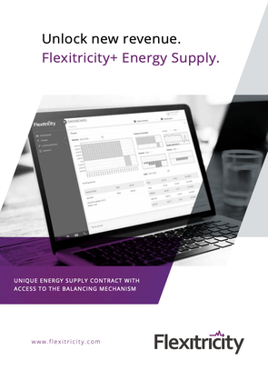 Flexitricity+ Energy Supply Brochure