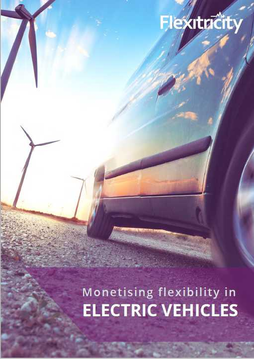 Monetising Flexibility in Electric Vehicles