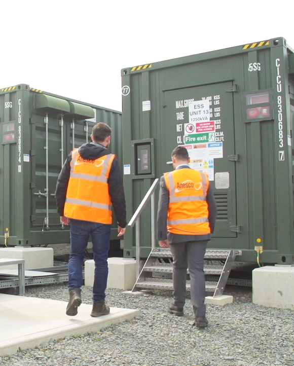 Anesco: Successful partnership to generate revenue from battery storage and support the renewable energy revolution