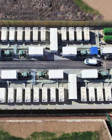 UK's largest battery ready to balance the grid