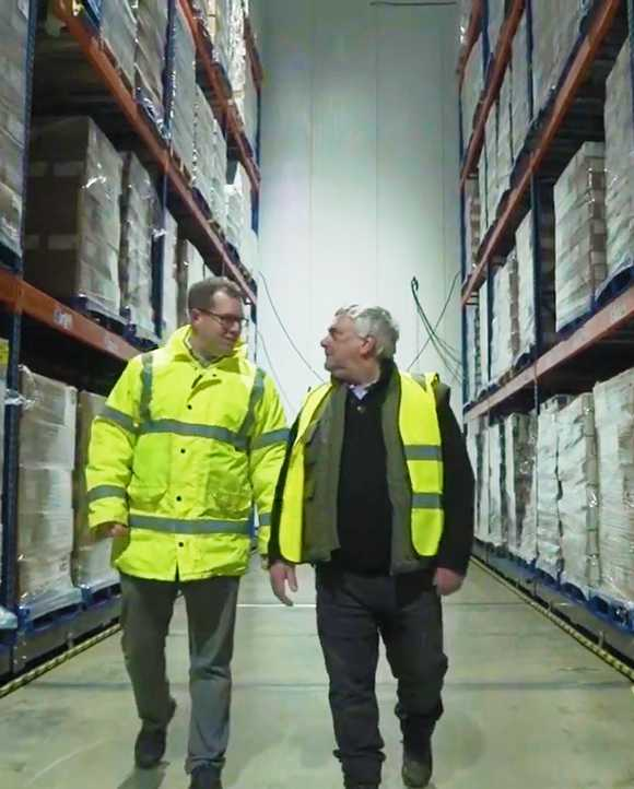 Load management helps Norish Cold Storage reduce GB carbon emissions and generate revenue